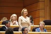 Luisa Fernanda Rudi (PP) toma posesión como senadora por la Comunidad Autónoma