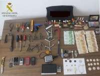 Dos detenidos por robar en una casa en Mota del Cuervo y recuperados 6.000 euros en efectivo y varias joyas