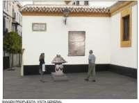 Urbanismo inicia obras de repavimentación en la plazuela de la calle Dueñas, frente al palacio