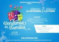 Franco-Españolas organiza una enoexperiencia relacionada con la vendimia para disfrutar en familia