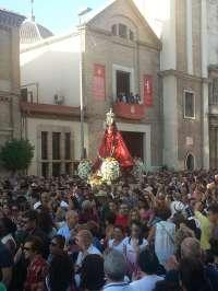 La Virgen de la Fuensanta regresa a su Santuario acompañada por miles de romeros