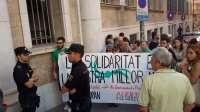 Los acusados de la protesta contra los recortes que tuvo lugar en 2012 aseguran que su actitud fue pacífica