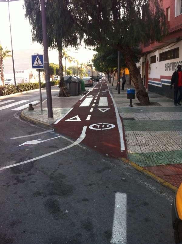 Almería celebra la Semana Europea de la Movilidad con 42 nuevos kilómetros de vías ciclistas