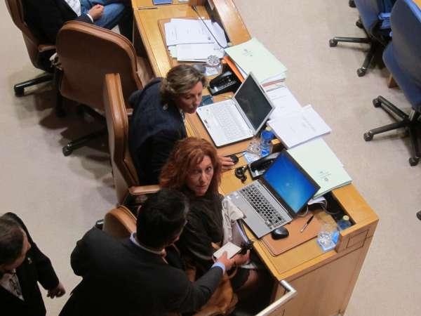 Expulsan a la diputada Carmen Acuña (PSdeG) en medio de un bronco debate sobre el hospital del Vigo