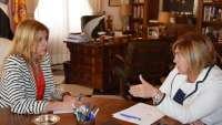 Diputación de Cáceres y Junta de Extremadura acuerdan un protocolo en materia de intermediación bancaria