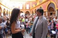 El Ayuntamiento formalizará la candidatura de Carolina Marín al Premio Princesa de Asturias de los Deportes