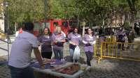 La III Lanzadera de Valladolid recoge material escolar para las familias con más necesidades económicas