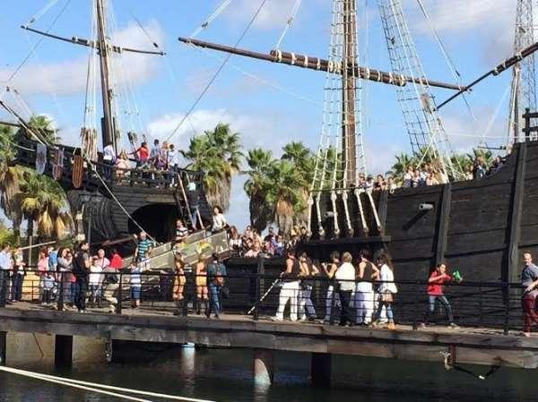 Cultura.-Turismo.- El Muelle de las Carabelas supera las 17.200 visitas durante el puente del 12 de octubre