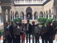 Turismo.- La capital recibe una delegación de agentes de viajes estadounidenses de turismo de lujo