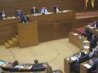 Los grupos preguntaran a Puig en las Corts sobre su gestión, medidas contra la corrupción y auditoría de la deuda