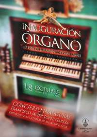 Cultura.- El Cabildo restaura el órgano de la Iglesia del Juramento de San Rafael
