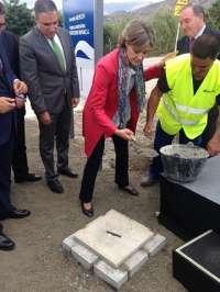Comienzan las obras de mejora de la carretera de acceso al Parque Tecnoalimentario de la Axarquía