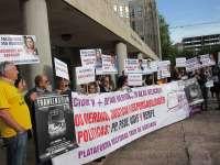 Las víctimas exigen investigar un sobrepeso de 9 toneladas por eje en los furgones generadores del Alvia
