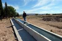 El Ayuntamiento de Tarazona construye un nuevo abrevadero en La Luesa