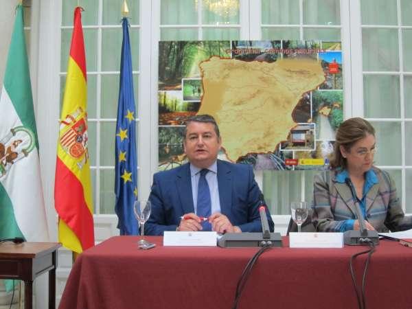El Estado invierte 22,5 millones en la red de caminos naturales andaluces, con 437 kilómetros construidos