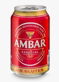 Cervezas Ambar lanza el formato en lata apta para celiacos