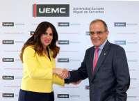La UEMC ofrece becas a deportistas y árbitros del Centro de Tecnificación de la Federación de Fútbol de CyL