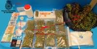 Cinco hombres detenidos por tráfico de drogas que distribuían en un local de ocio y una vivienda en Ourense
