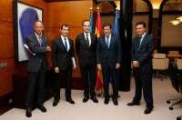 EDP traslada a Javier Fernández los avances del proyecto de desnitrificación