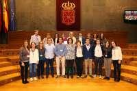 El colegio San Ignacio gana el VI Torneo de Debate de Bachillerato organizado por la UPNA y el Parlamento de Navarra