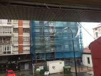 Rompen el cristal de la sede asturiana del sindicato Manos Limpias