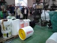 Junta incentiva con 116.000 euros a la industria Granaplast para producir bolsas de plástico reciclables