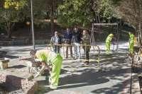 El Ayuntamiento acomete las obras de recuperación de la zona de ocio de Punta Parayas