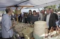 Armengol, Barceló y Ensenyat visitan la XVII Fira de Tardor en Marratxí