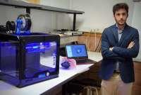 Un joven murciano, premiado por diseñar una impresora 3D para el tratamiento quirúrgico del cáncer
