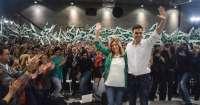 Pedro Sánchez y Susana Díaz participan este domingo en un acto de precampaña en Jaén