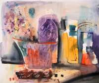 La pintora extremeña Rosana Soriano expondrá en Badajoz una selección de bodegones y paisajes urbanos