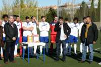 La Asociación Española Contra la Muerte Súbita '#7 José Durán' dona un desfibrilador al Club San Andrés