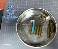 La Policía Nacional recupera en Telde (Gran Canaria) munición real usada por fusiles como CETME o AK-47