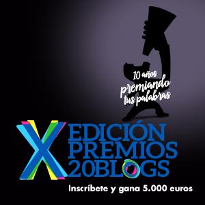 Premios 20Blogs de 20minutos: X edición