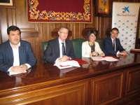 Ayuntamiento de Teruel y 'la Caixa' colaboran para cubrir necesidades básicas en la primera infancia