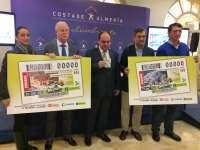 Turismo.- La ONCE elabora dos cupones con la imagen de Lucainena de las Torres y Mojácar