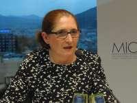 Blanca Ramos, primera decana del Colegio de Abogados de Pamplona en sus 200 años de historia