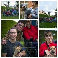 Voluntarios discapacitados y animales se unen para recaudar fondos para APA Rioja