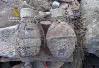 La Guardia Civil destruye cinco artefactos explosivos en diferentes puntos de Cantabria