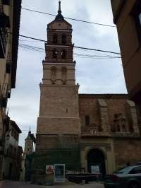 La DPZ restaura la torre mudéjar de la iglesia parroquial de Fuendejalón