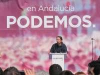 Iglesias y Rodríguez participan este jueves en un acto en Sevilla para el que se han repartido 3.200 invitaciones