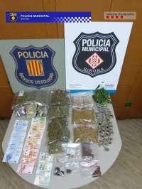 Detenidos dos responsables de un club de cannabis en Girona