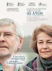 45 años - Cartel