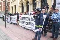 Las marchas de funcionarios públicos y del SEPLA se unen para defender sus derechos
