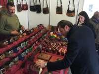 Arranca la XII Feria de Artesanía de Navidad de Valladolid, una