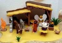 El belén hecho con figuras de Playmobil por la hermandad del Resucitado de Cuenca podrá visitarse hasta el 6 de enero