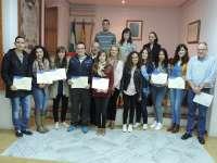 La Diputación clausura los cursos de formación para jóvenes realizados en la comarca de Los Vélez