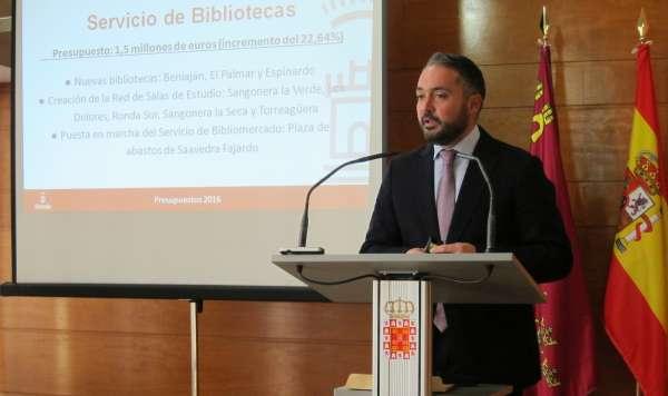 Patrimonio prevé la puesta en marcha del Bibliomercado en 2016 y ejecución II fase barrio de Los Rosales