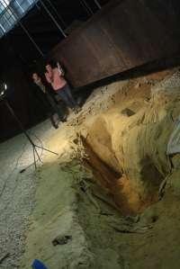 Excavaciones arqueológicas en San Juan para investigar el lagar turdetano hallado durante las obras del metro