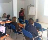 Profesionales del Hospital Valle del Guadiato imparten un taller de prevención de accidentes infantiles